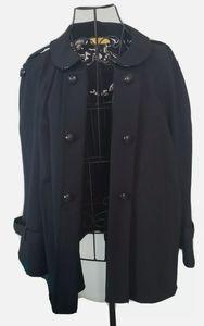 St. John SOCA black open 3/4 sleeve cardigan